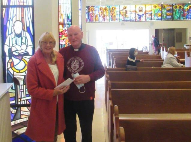 Reverend Tony Bell and wife Pat; Anglican Church in Palma, Mallorca