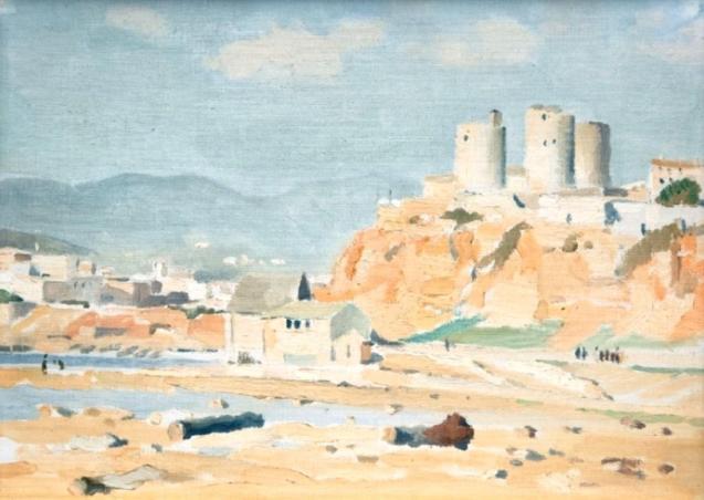 'Vistas de es Jonquet' by Adolphe Valette.