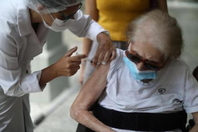 Over 65s vaccinations.