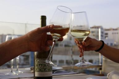 Ordering wine in restaurants.