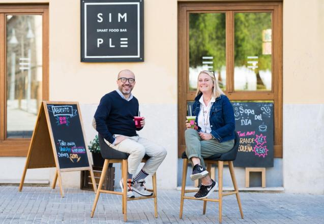 Simply owners - Lorenzo and Frida