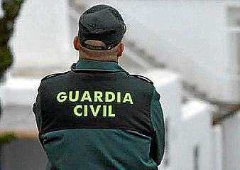 A Guardia Civil agent.