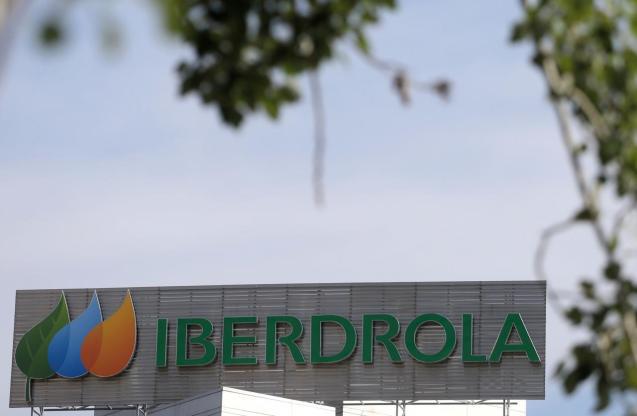 The logo of Spanish utility company Iberdrola