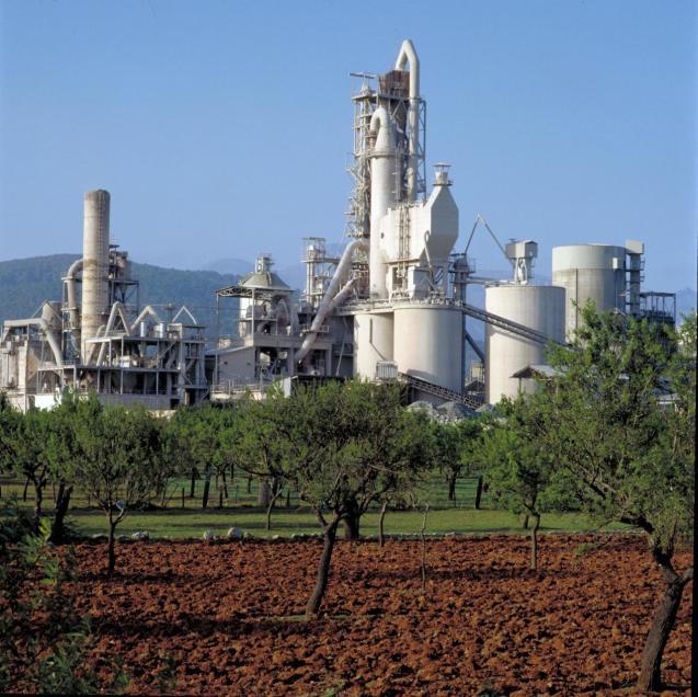 Cemex Plant in Lloseta