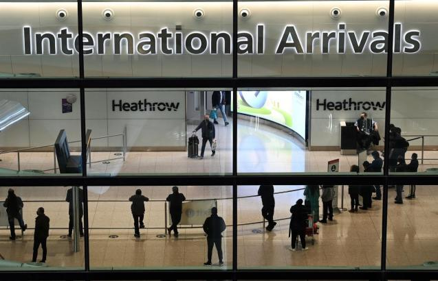 Designated government hotels for travellers from 'risk countries' in UK