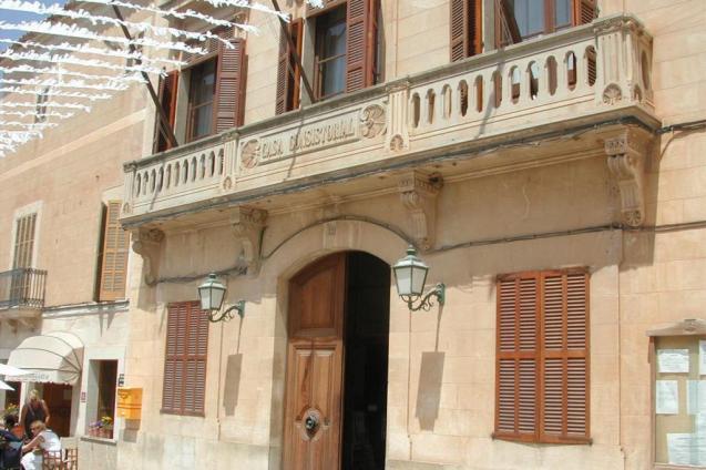 Santanyi town hall, Mallorca