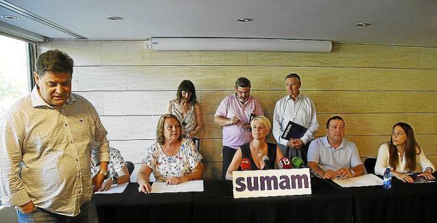 Sumam, a political party in Mallorca