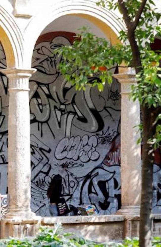 Palma graffiti.