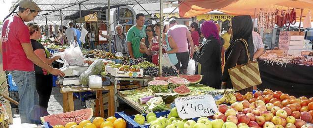 Farmers' wholesale market in Palma, Mallorca