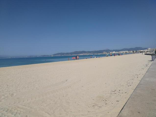 Playa de Palma, Mallorca in summer 2020