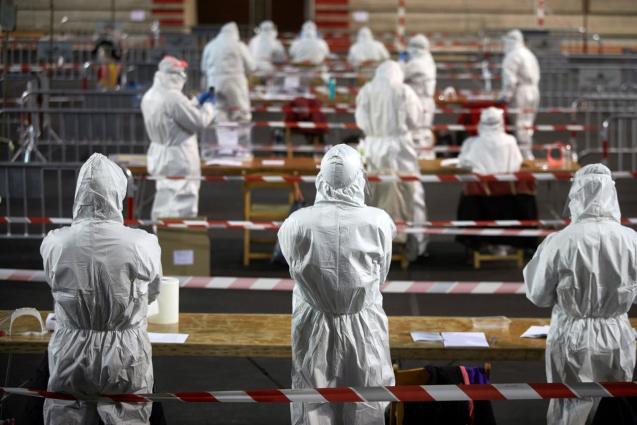 Health precautions for Catalonia's election