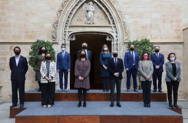 Balearic government with new ministers, February 15, 2021