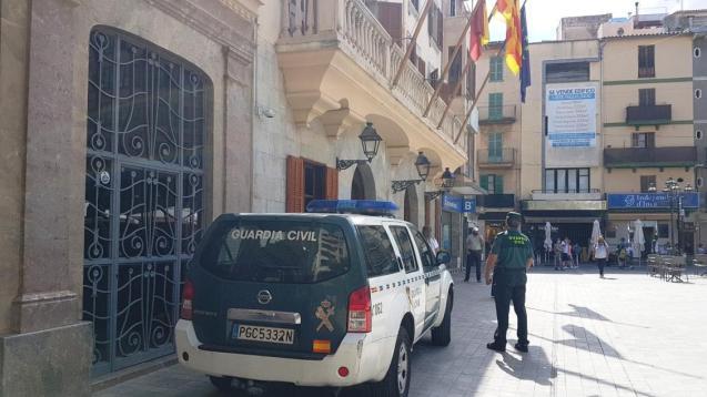 Guardia Civil in Inca, Mallorca