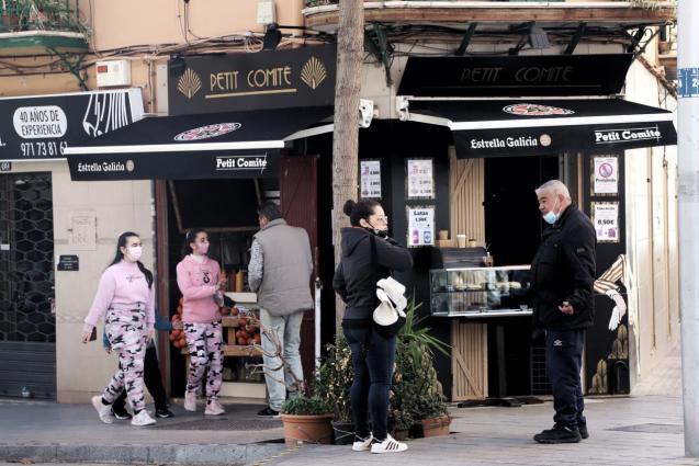 Palma Ayuga local nuevas restricciones bares y restaurantes