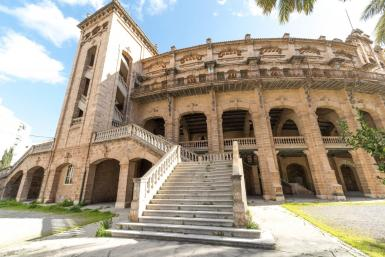 Palma's Plaza de Toros (bullfighting ring) sets the stage for episode 8 of 10 in The Mallorca Files season one.