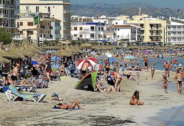s'Arenal, Mallorca.