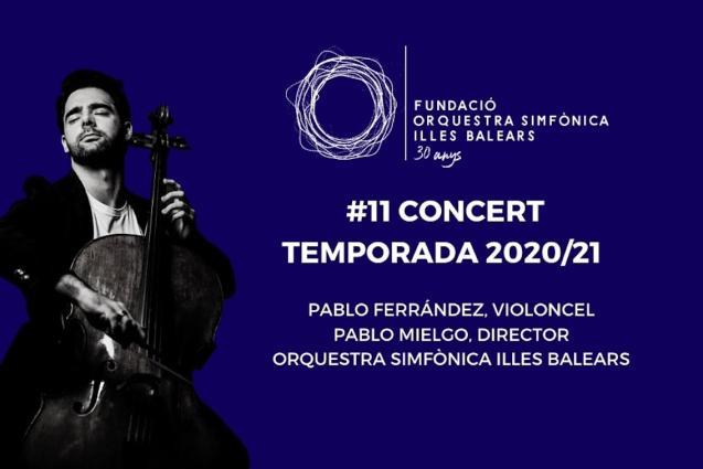 Cellist, Pablo Ferrández.