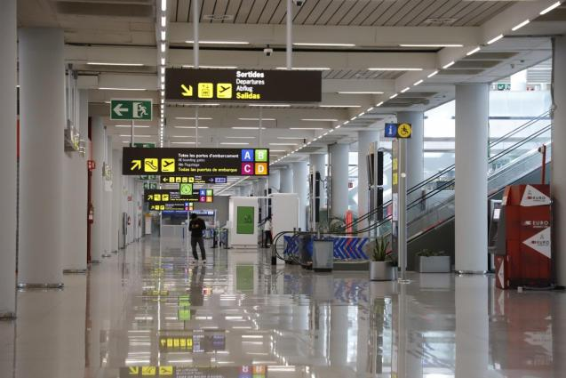 Palma airport.
