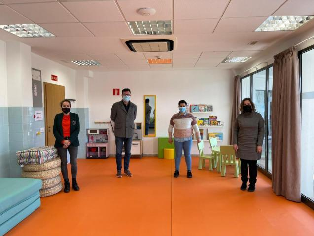 A reception centre for vulnerable families in Palma, Mallorca