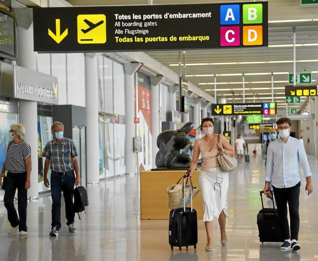 Palma Airport, Mallorca, which has the Airport Health Accreditation