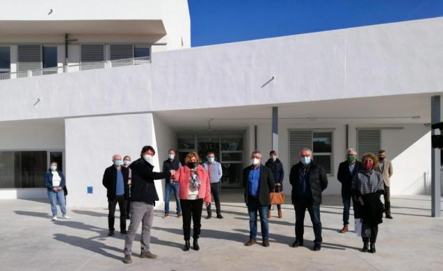 The building of the school has cost 4.3 million euros