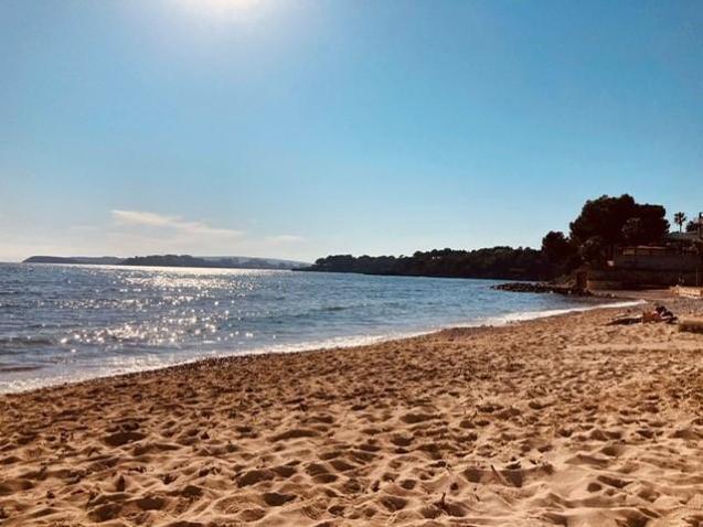 Beach like weatherin February.