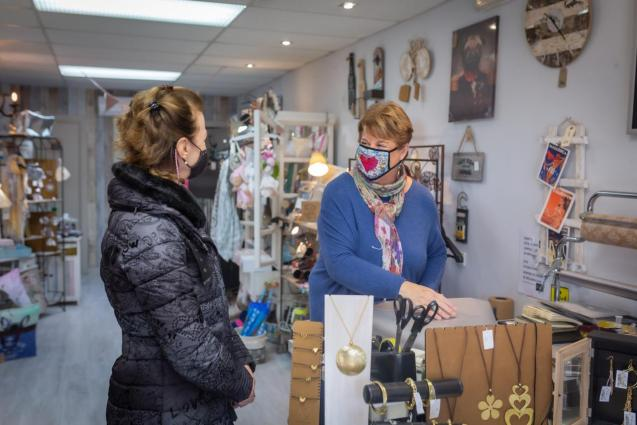 Joanna has been running her shop for 15 years