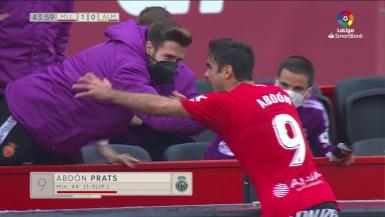 Summary match video between Real Mallorca and Almeria.