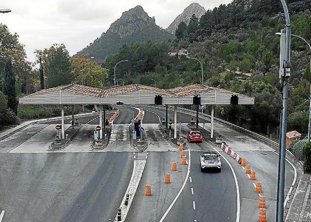 Soller Tunnel toll, Mallorca