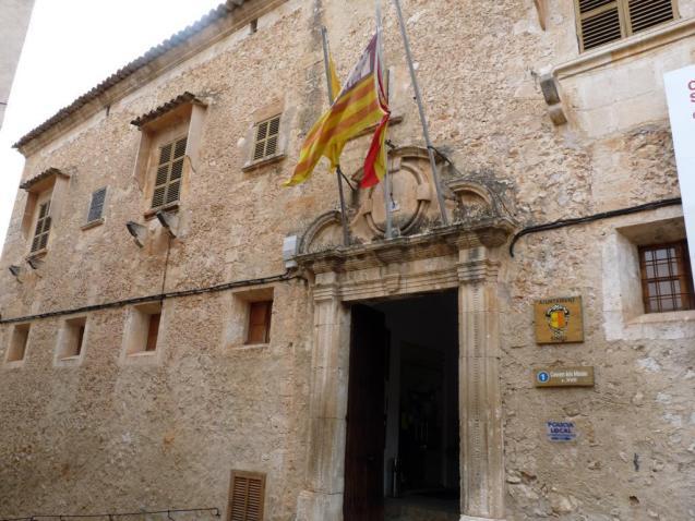 Sineu town hall, Mallorca