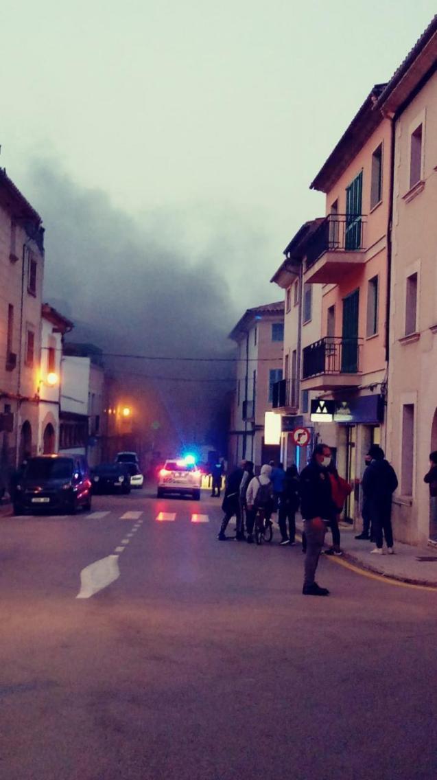 Explosion in Algaida, Mallorca