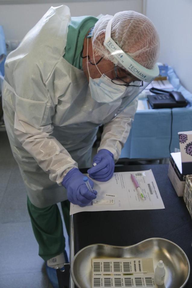 PCR antigen test