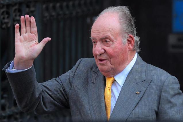 Spain's former king Juan Carlos