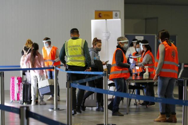 At Minorca Airport