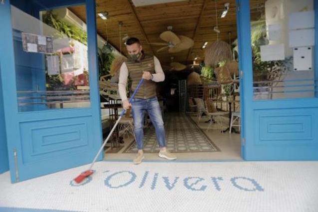 S'Olivera Bar, Palma.