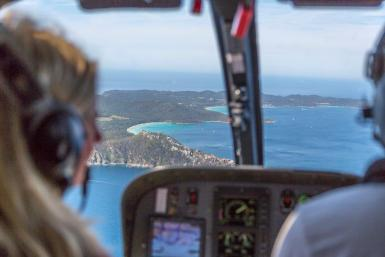 Seeing Mallorca with Balearic Helicopters.