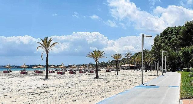 Beach in Alcudia, Mallorca