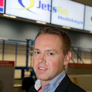 Managing Director of JetsGo Holidays Daniel Reilly.