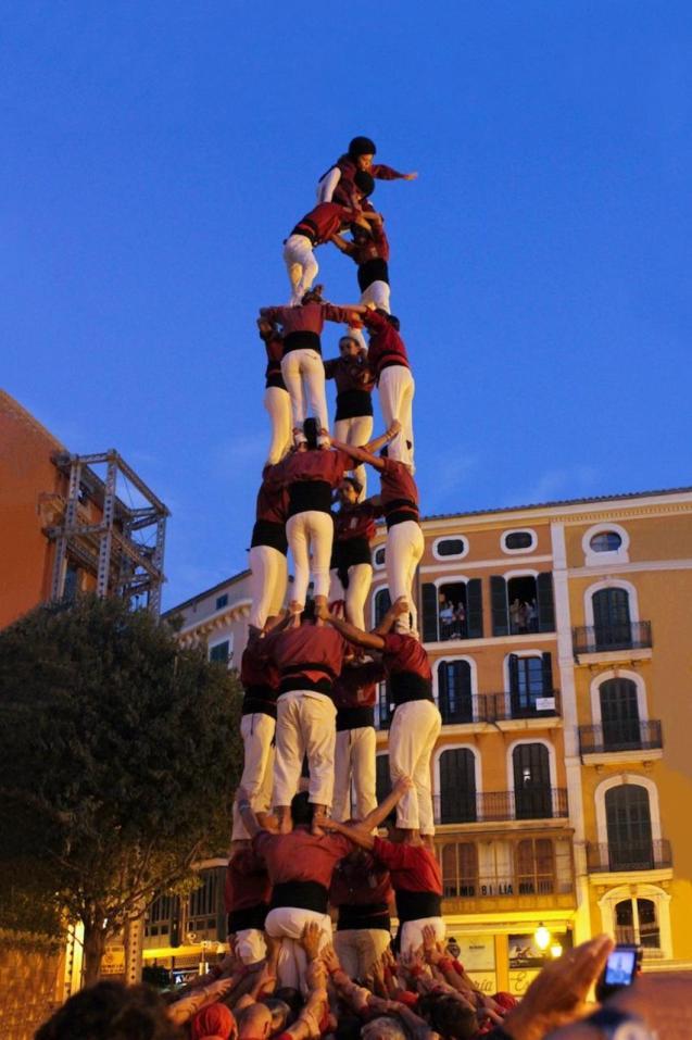 Los Castellers de Mallorca.