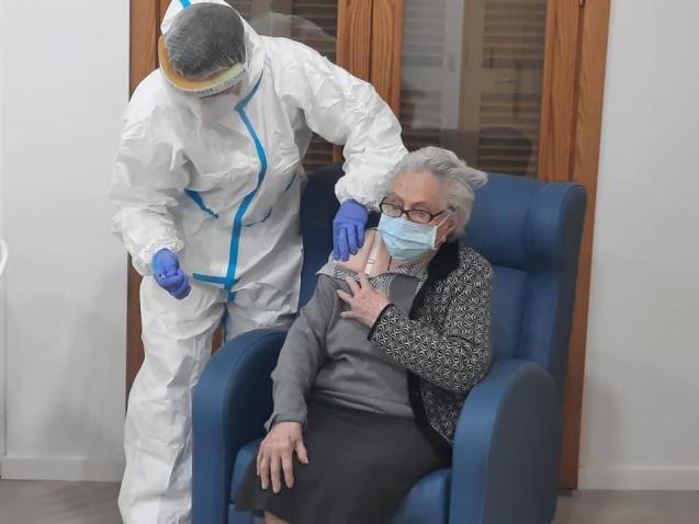 Vaccination in Mallorca's care homes