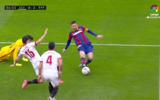 Summary match between Barcelona-Sevilla on Saturday