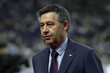 Saitama (Japan).- (FILE) - FC Barcelona's President Josep Maria Bartomeu is seen before a pre-season friendly soccer match between FC Barcelona and Chelsea FC in Saitama, north of Tokyo, Japan, 23 July 2019 (re-issued on 01 March 2021). Former FC Barcelona president Josep Maria Bartomeu, along with former director of the presidency area Jaume Masferrer, current director general of the club, Oscar Grau and head of the legal services ??Roman Gomez Ponti, was arrested on 01 March 2021 as part of the investigation known as 'BarcaGate', judicial sources confirmed to Spanish national agency EFE. (Futbol, Amistoso, Japón, Tokio) EFE/EPA/KIYOSHI OTA *** Local Caption *** 55357134 Former FC Barcelona's President Josep Maria Bartomeu arrested