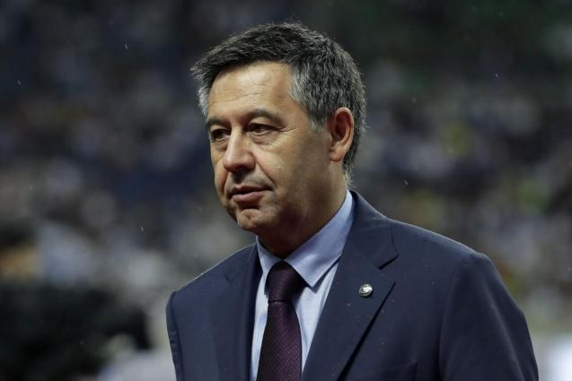 Former FC Barcelona's President Josep Maria Bartomeu arrested
