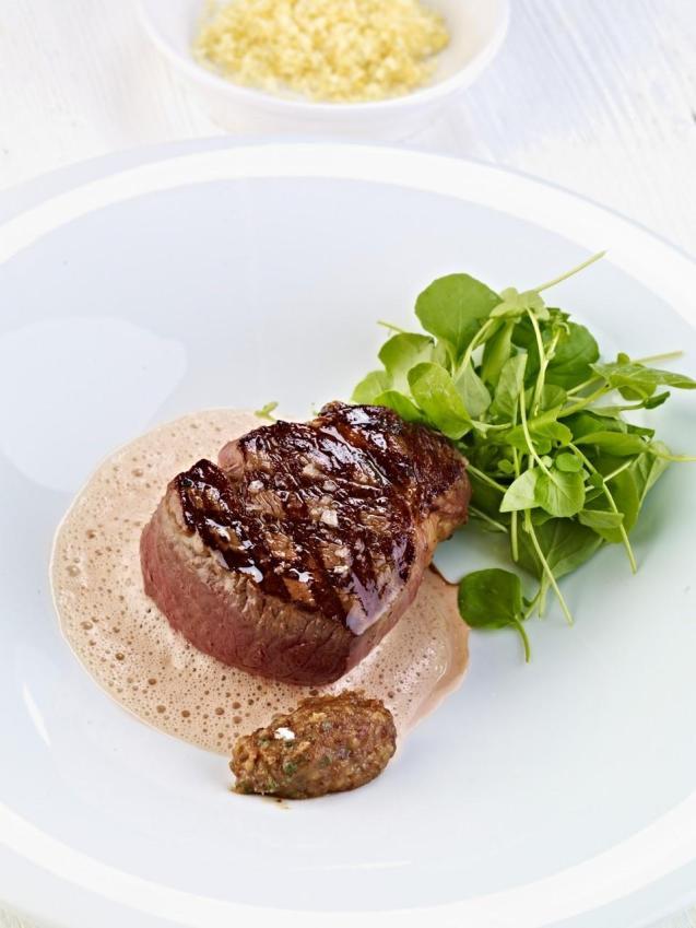 Fillet of beef with foie gras