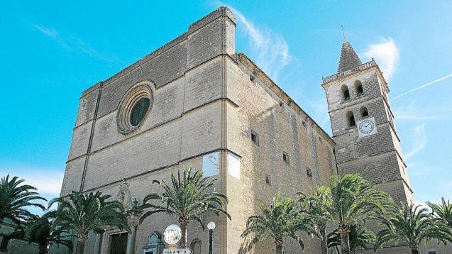 Nostra Senyora de la Consolació, the parish church in Porreres, Mallorca