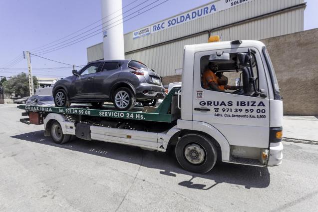 Cars in Ibiza