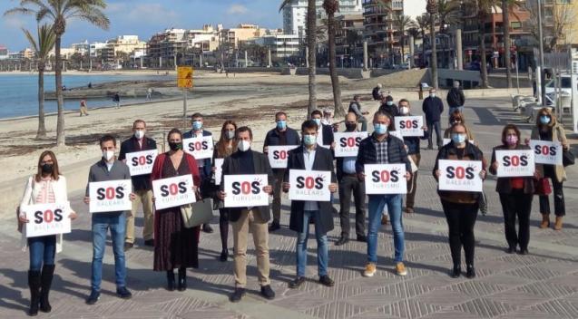 Partido Popular in Mallorca back the SOS Turismo campaign