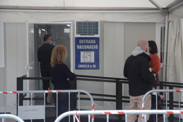 Vaccination at Son Dureta in Palma, Mallorca