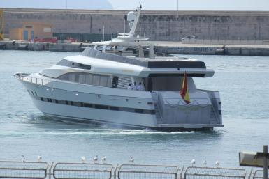 Fortuna, the yacht formerly used by Juan Carlos.