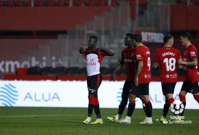 Amath Ndiaye of Real Mallorca scored against Cartagena